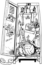 School_Locker_-_Cartoon